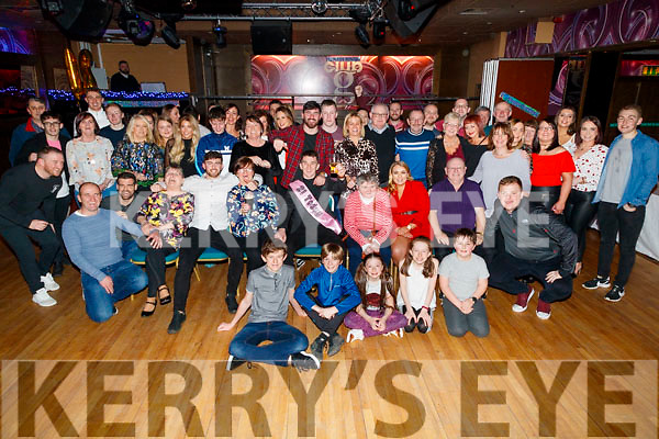 James Duggan, Castlewood Park, Tralee, who celebrated his 21st birthday with family and friends, in the Grand Hotel, Tralee, on Saturday night last