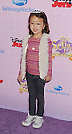"""BURBANK, CA - NOVEMBER 10: Aubrey Anderson-Emmons arrives at the Disney Channel's Premiere Party For """"Sofia The First: Once Upon A Princess"""" at the Walt Disney Studios on November 10, 2012 in Burbank, California."""