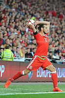 9.10.2016 - Cardiff City Stadium - Wales v Georgia group D World Cup Qualifier - <br /> <br /> <br /> Jeff Thomas Photography -  www.jaypics.photoshelter.com - <br /> e-mail swansea1001@hotmail.co.uk -<br /> Mob: 07837 386244 -