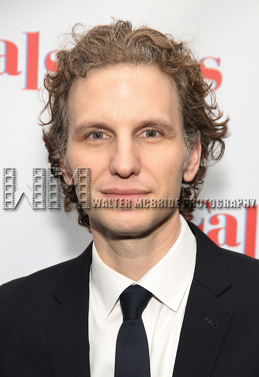 Sebastian Arcelus attends the Opening Night After Party for 'Falsettos'  at the New York Hilton Hotel on October 27, 2016 in New York City.