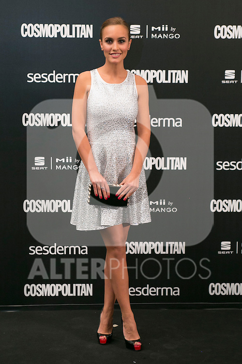 Megan Montaner attend the photocall of the Cosmopolitan Fun Fearless Female 2014 Awards at the Ritz Hotel in Madrid, Spain. October 20, 2014. (ALTERPHOTOS/Carlos Dafonte)