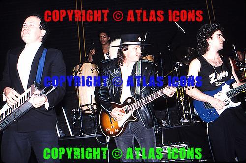 Stevie Ray Vaughan: Live: NAMM Jam 1987.Photo Credit: Eddie Malluk/Atlas Icons.com