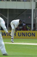 31/05/2002.Sport -Cricket - 2nd NPower Test -Second Day.England vs Sri Lanka.Alex Tudor. [Mandatory Credit Peter Spurrier:Intersport Images]