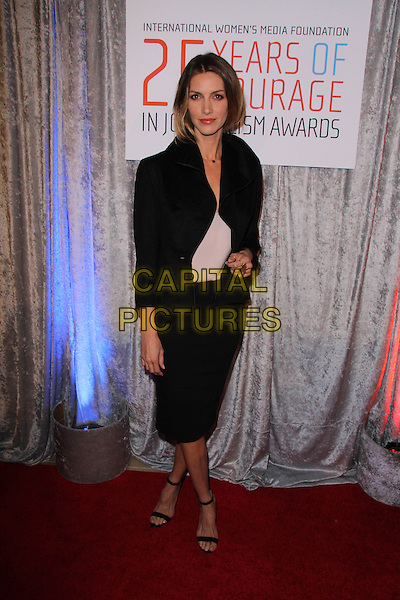BEVERLY HILLS, CA - OCTOBER 28: Dawn Olivieri at the 25th Annual Courage In Journalism Awards in Beverly Hills, California on October 28, 2014.  <br /> CAP/MPI/DC/DE<br /> &copy;DE/DC/MediaPunch/Capital Pictures