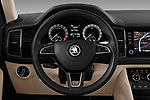 Car pictures of steering wheel view of a 2017 Skoda Kodiaq Style 5 Door SUV Steering Wheel