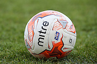 A Sky Bet Football League match ball ahead of the Sky Bet League 2 match between Luton Town and Crawley Town at Kenilworth Road, Luton, England on 12 March 2016. Photo by David Horn/PRiME Media Images.