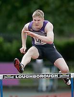 20 MAY 2007 - LOUGHBOROUGH, UK - David Brackstone (LOU) - 400m Hurdles - Loughborough International Athletics. (PHOTO (C) NIGEL FARROW)