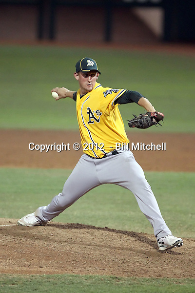 Derek Hansen - 2012 AZL Athletics (Bill Mitchell)