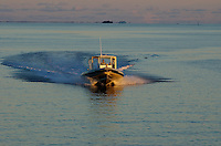 Dive Boats in the Truk Lagoon