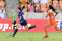 Houston, TX - Sunday August 13, 2017:  Sydney Leroux during a regular season National Women's Soccer League (NWSL) match between the Houston Dash and FC Kansas City at BBVA Compass Stadium.