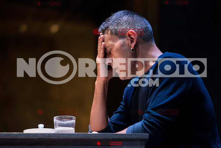 "Roberto Enriquez during the theater play of ""El Pequeño Poni"" at Teatro Bellas Artes in Madrid. August 16, Spain. 2016. (ALTERPHOTOS/BorjaB.Hojas) /NORTEPHOTO"