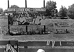Signs seen along route of 2nd Meredith March Against Fear through Mississippi photographed by Jim Peppler for essay published in The Southern Courier on June 25, 1966. Copyright Jim Peppler/1966. This and over 10,000 other images are part of the Jim Peppler Collection at The Alabama Department of Archives and History:  http://digital.archives.alabama.gov/cdm4/peppler.php