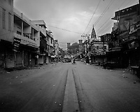A street a dawn in Rawalpindi, Pakistan on Thursday November 19 2009.