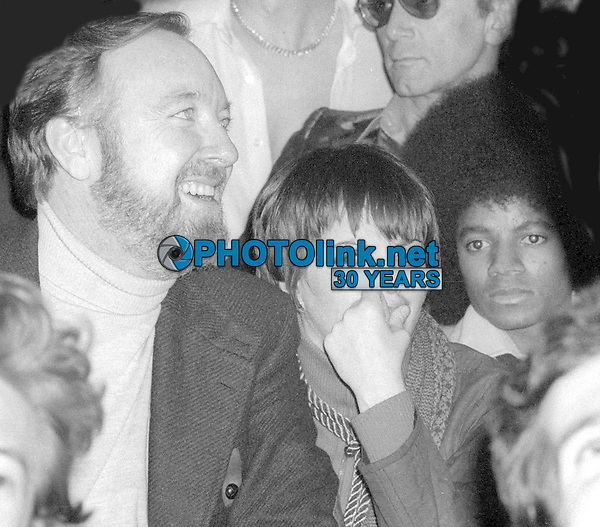 Jack Haley Jr. Liza Minnelli Michael Jackson 1977<br /> Photo By Adam Scull/PHOTOlink.net