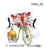 Fabrizio, Comics, CHRISTMAS SANTA, SNOWMAN, paintings, ITFZ05,#x# stickers Weihnachten, Navidad, illustrations, pinturas