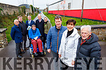 Tralee Fenit Greenway members who are looking for funding, pictured on Wednesday last were l-r: Councillor Sam Locke, Tom O'Grady (Walk the Line Group), Councillor Pa Daly, Councillor Councillor, Terry O'Brien Councillor, Jim Finucane and Councillor Toiréasa Ferris. Foreground l-r: Mike O'Neill (Fenit Development Association), Major of Kerry Norma Foley and Joe Cotter (Walk the Line Group).