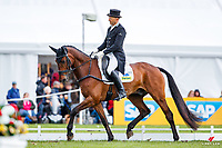 AUS-Bill Levett rides Shannondale Titan during the CCI-S4* ERM Dressage. Interim-3rd. 2019 GBR-Dodson and Horrell Chatsworth International Horse Trial. Saturday 11 May. Copyright Photo: Libby Law Photography