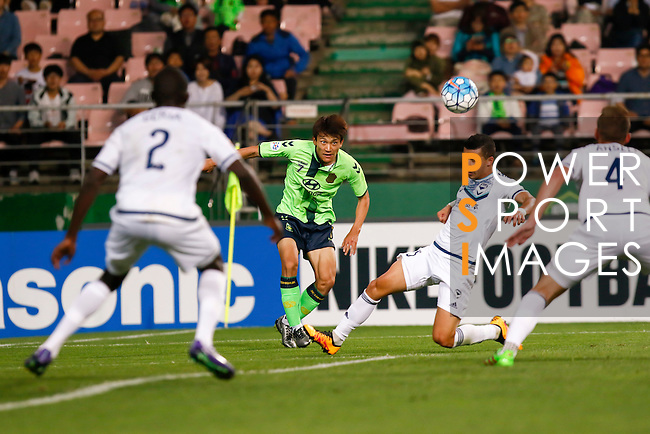 Jeonbuk Hyundai Motors vs Melbourne Victory during their 2016 AFC Champions League Round of 16 - 2nd leg match on May 24, 2016 at the Jeonju World Cup Stadium in Jeonju, South Korea. Photo by Lee Jae-Won / Power Sport Images