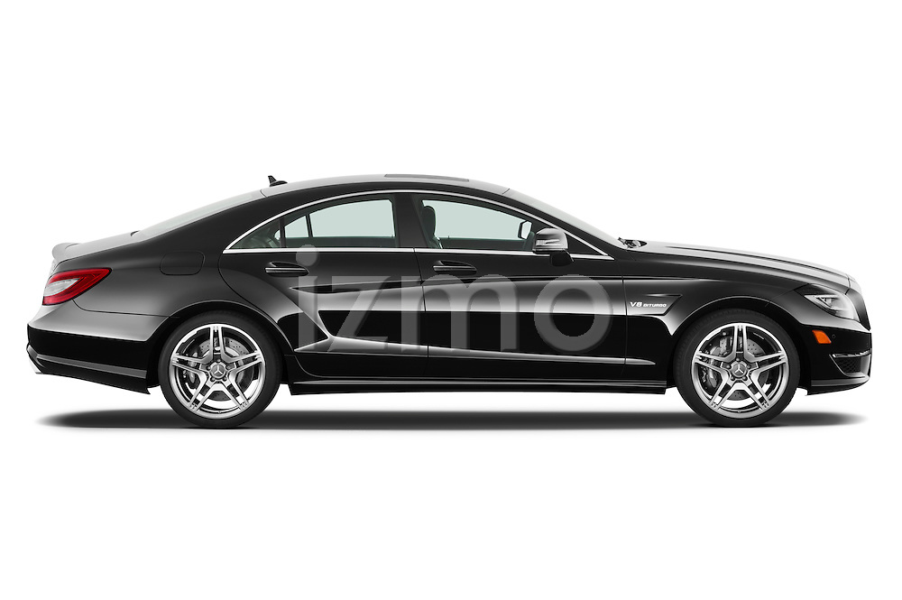 Passenger side profile photo of a 2013 Mercedes CLS Class AMG sedan