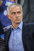 Jose Mourinho (Manager) of Chelsea ahead of the UEFA Champions League match between Chelsea and Maccabi Tel Aviv at Stamford Bridge, London, England on 16 September 2015. Photo by David Horn.
