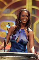 Co-host Vivica Fox on stage at The Source Hip-Hop Music Awards 2001 at the Jackie Gleason Theater in Miami Beach, Florida.  8/20/01  Photo by Scott Gries/ImageDirect