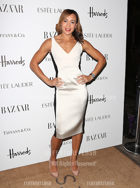 Jessica Ennis  arriving for the Harper's Bazaar Women of the Year Awards 2012 at Claridge's Hotel, London. 31/10/2012 Picture by: Henry Harris / Featureflash