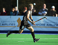 NZ's Dean Couzins during the international hockey match between the New Zealand Black Sticks and Malaysia at Fitzherbert Park, Palmerston North, New Zealand on Sunday, 9 August 2009. Photo: Dave Lintott / lintottphoto.co.nz
