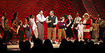 Caroline O'Connor, John Bolton, Dan Lauria, Johnny Rabe, Erin Dilly, Zac Ballard & Company during the Broadway Opening Night Performance Curtain Call for 'A Christmas Story - The Musical'  at the Lunt Fontanne Theatre in New York City on 11/19/2012.