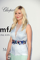 Kirsten Dunst attends the amfAR Gala at Hotel du Cap-Eden-Roc in Cannes, 24th May 2012...Credit: Timm/face to face / Mediapunchinc