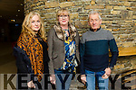 Enjoying the Eddi Reader Concert at Siamsa Tire on Sunday were Mary Fay, Jennifer Clegg and Peter Clegg from Kenmare