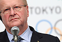 John Coates IOC Vice President, <br /> APRIL 4, 2014 : Joint press conference in The Tokyo Organizing Committee of the Olympic and Paralympic Games (TOCOG) members and IOC committee members was held in the Shinagawa Prince Hotel in Tokyo, Japan. (Photo by AFLO SPORT)