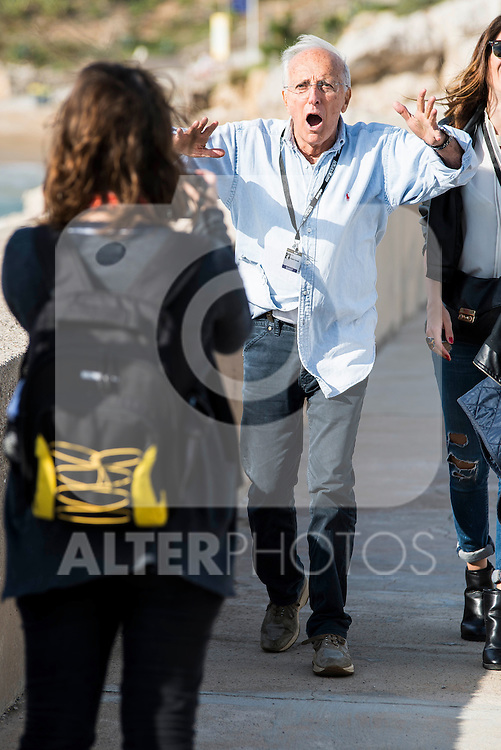 Italian director Ruggero Deodato pose to the media at the photocall in the port at Festival de Cine Fantastico de Sitges in Barcelona. October 11, Spain. 2016. (ALTERPHOTOS/BorjaB.Hojas)