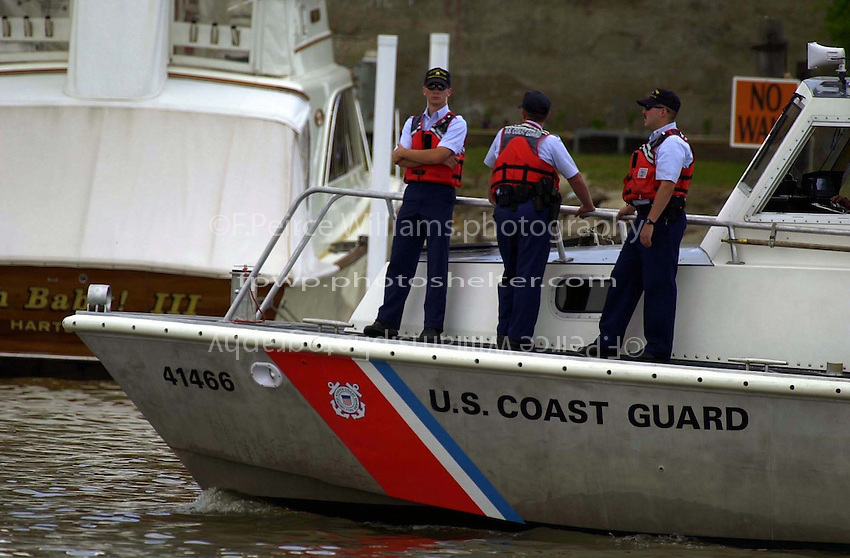 The Coast Guard on patrol...