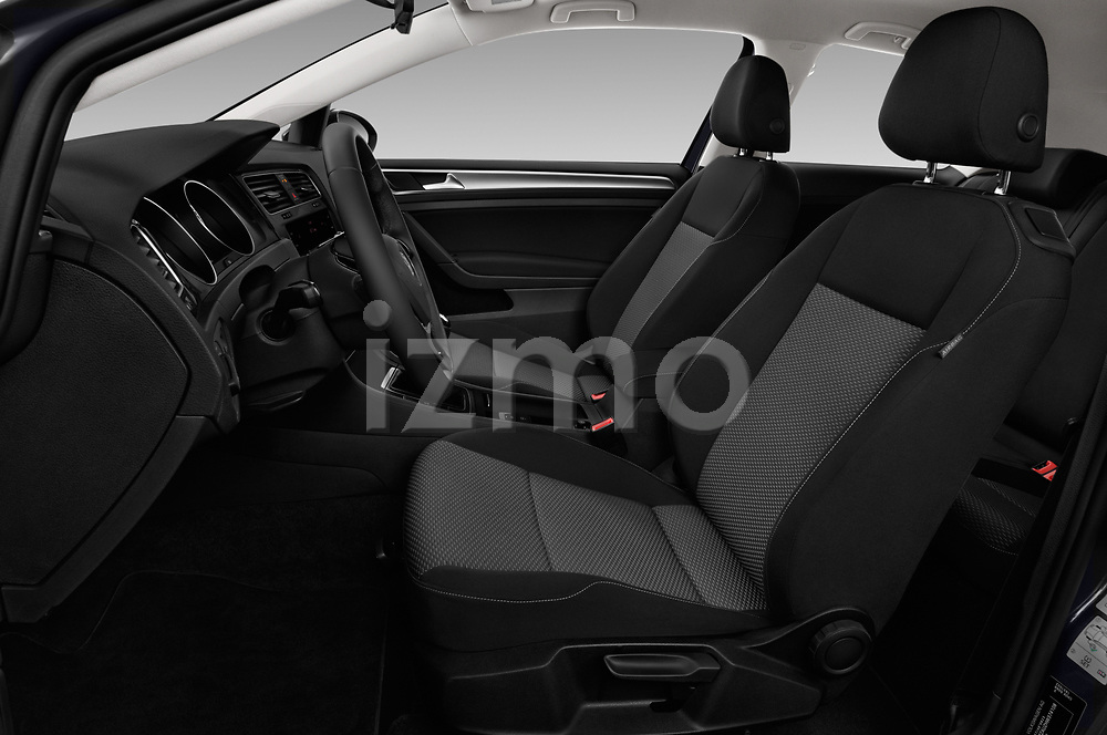Front seat view of a 2017 Volkswagen Golf Trendline 3 Door Hatchback front seat car photos