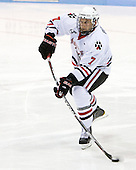 Anthony Bitetto (Northeastern - 7) was one of eight freshmen dressed for Northeastern in the game. - The visiting Rensselaer Polytechnic Institute Engineers tied their host, the Northeastern University Huskies, 2-2 (OT) on Friday, October 15, 2010, at Matthews Arena in Boston, MA.