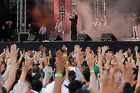 SÃO PAULO,SP, 07.11.2015 - FESTIVAL-PROMESSAS - Damares durante o  Festival Promessas 2015, que acontece no Campo de Marte, zona norte de São Paulo, neste sábado, 7. (Foto: Douglas Pingituro/Brazil Photo Press)