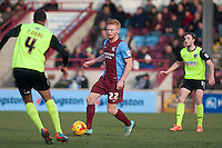 Liam O'Neil of Scunthorpe Utd<br />  - Scunthorpe United vs Oldham Athletic - Sky Bet League One Football at Glanford Park, Scunthorpe, Lincolnshire - 07/02/15 - MANDATORY CREDIT: Mark Hodsman/TGSPHOTO - Self billing applies where appropriate - contact@tgsphoto.co.uk - NO UNPAID USE
