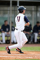 February 22, 2009:  Outfielder Pete Cappetta (11) of the University of Illinois during the Big East-Big Ten Challenge at Naimoli Complex in St. Petersburg, FL.  Photo by:  Mike Janes/Four Seam Images