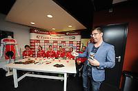 SCHAATSEN: Team Corendon, Financieel Martijn Kabbers, ©foto Martin de Jong