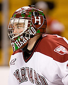 Justin Tobe (Harvard - 33) - The Northeastern University Huskies defeated the Harvard University Crimson 3-1 in the Beanpot consolation game on Monday, February 12, 2007, at TD Banknorth Garden in Boston, Massachusetts.
