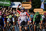 Caleb Ewan (AUS) Lotto-Soudal wins Stage 16 of the 2019 Tour de France running 177km from Nimes to Nimes, France. 23rd July 2019.<br /> Picture: ASO/Pauline Ballet | Cyclefile<br /> All photos usage must carry mandatory copyright credit (© Cyclefile | ASO/Pauline Ballet)