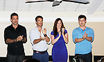 Ryan Paivey- Ryan Carnes - Melissa Archer - Christopher Sean - Actors from Y&R, General Hospital and Days donated their time to Southwest Florida 16th Annual SOAPFEST - a celebrity weekend May 22 thru May 25, 2015 benefitting the Arts for Kids and children with special needs and ITC - Island Theatre Co. as it presented A Night of Stars on May 23 , 2015 at Bistro Soleil, Marco Island, Florida. (Photos by Sue Coflin/Max Photos)