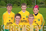 Kerry's fantastic forwards l-r: David Sheerin, Liam Carey, Jordan Kiely, Jesse O'Sullivan and Adam O'Rourke.