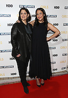 Ilene Landress, Jenni Konner arriving for the Girls - UK premiere of the third series held at the Cineworld Haymarket - Arrivals, London. 15/01/2014 Picture by: Henry Harris / Featureflash