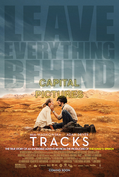 POSTER ART<br /> in Tracks (2013) <br /> *Filmstill - Editorial Use Only*<br /> CAP/FB<br /> Image supplied by Capital Pictures