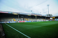 Scunthorpe Utd's The Clugston stand before the Sky Bet League 1 match between Scunthorpe United and Fleetwood Town at Glanford Park, Scunthorpe, England on 17 October 2017. Photo by Stephen Buckley/PRiME Media Images