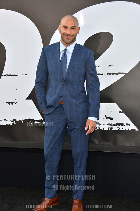 Jay Heiron at the premiere for &quot;The Equalizer 2&quot; at the TCL Chinese Theatre, Los Angeles, USA 17 July 2018<br /> Picture: Paul Smith/Featureflash/SilverHub 0208 004 5359 sales@silverhubmedia.com
