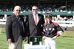14 April 2011.  #5 Shotgun Gulch and Garrett Gomez win the 10th running of the Vinery Madison GRI $300,000.
