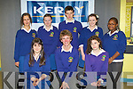QUIZ: The students of Pobal Scoil Chorca Dhuibie, Dingle competing in the 2010 ISTA senior science quiz at IT Tralee south campus on Thursday seated l-r: Kate Ni Mhuircheartaigh, Gus Knight and Coleen Nic Carltayh. Back l-r: Fern Price-Jones, Meadhbh Nic Uighir, Conal MacGearailt, Orla Nic an tSithigh and Wilmar Ndhlovu.