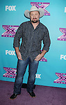 LOS ANGELES, CA - DECEMBER 17: Tate Stevens attends  'The X Factor' season finale press conference at CBS Studios on December 17, 2012 in Los Angeles, California.